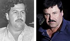 Quien ganó más dinero ¿el Chapo Guzmán o Pablo Escobar? [FOTOS]