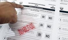 JNE inicia foros informativos a 21 días del Referéndum