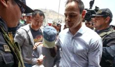 Kenji Fujimori y Mark Vito visitan a Keiko en penal de Chorrillos [VIDEO]