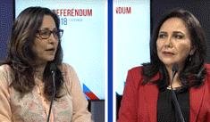 Gloria Montenegro comenta sobre la no reelección de congresistas y bicameralidad
