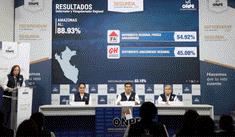 ONPE: ganadores virtuales de nueve Gobiernos Regionales