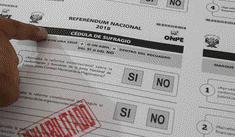 Referéndum 2018: El distrito donde todos los votantes marcaron Sí, Sí, Sí y No