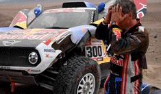 El infierno de arena por el que ha pasado Carlos Sainz en el Dakar 2019