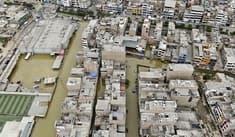 Aniego en S. J. L.: conoce el plan de desvíos por calles cerradas en zona afectada [MAPA]