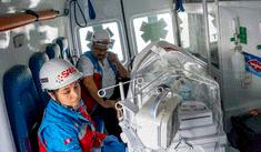 Trasladan vía aérea a bebé prematuro desde Andahuaylas a Lima