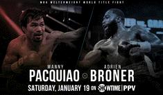 ▷ VER EN VIVO Manny Pacquiao vs Adrien Broner [LIVE STREAM] FOX SPORTS