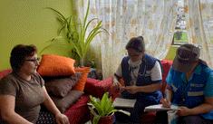 EsSalud orienta a damnificados de SJL sobre prevención de infecciones [FOTOS]