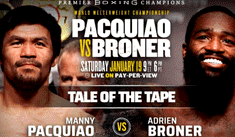 VER AQUÍ Manny Pacquiao vs Broner [EN VIVO] desde MGM Grand Arena