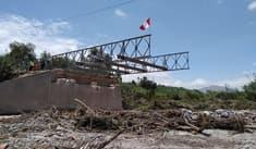 Comienzan a instalar infraestructura que reemplazará al Puente Montalvo