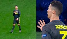 Juventus vs Atlético Madrid: provocativo gesto de Ronaldo tras abucheos del hincha 'colchonero'