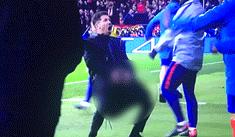 Juventus vs Atlético Madrid: El obsceno gesto de Simeone tras gol de Giménez