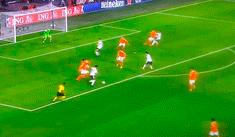 Holanda vs Alemania: Gnabry decretó el 2-0 con formidable derechazo a colocar [VIDEO]