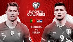 Portugal vs Serbia EN VIVO ONLINE: con Cristiano Ronaldo por las Eliminatorias a la Euro 2020