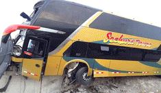 Huacho: 8 muertos y más de 40 heridos tras choque de bus con delegación aprista