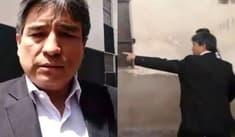 Cusco: aprista Luis Wilson se enfada por frase contra Alan García [VIDEO]