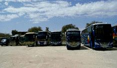 Huacho: bus que trasladaba delegación aprista partió de terminal sin autorización