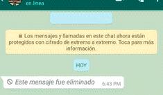 WhatsApp: increíble truco permite recuperar el contenido de los mensajes borrados [FOTOS]