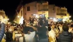 Cajamarquinos bailan en las calles tras fuerte sismo en Loreto [VIDEO]
