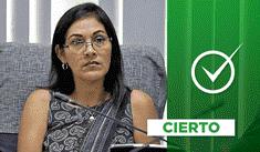 Fujimorista Salazar arremetió contra profesora durante sesión en el Congreso