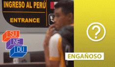 Viral sobre la validación de títulos venezolanos por la Sunedu es engañoso