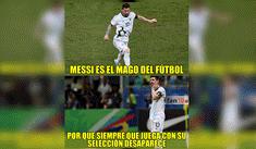 Argentina perdió ante Colombia y aparecieron los ingeniosos memes donde Messi es víctima [FOTOS]