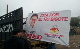 Falta a las normas electorales causa retiro de propagandas en Independencia [FOTOS Y VIDEOS]