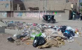 #YoDenuncio: basura es acumulada a espaldas de colegio en Chiclayo