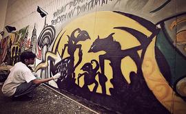Organizan concurso de grafiti para estudiantes de cuarto y quinto de secundaria
