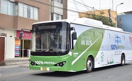 Bus eléctrico evita la emisión de más de 10 toneladas de CO2