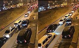 SJM: vecinos indignados por obra inconclusa que genera congestión vehicular