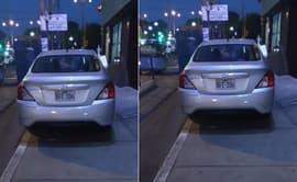 #YoDenuncio: auto impide paso al estar estacionado en vereda