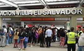 Metro de Lima: reportan fallas en el tren eléctrico [FOTOS]