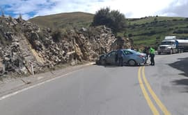 Pasco: tres menores quedan heridos tras despiste de auto