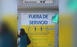 #YoDenuncio: ascensores de estación de Metro de Lima no funcionan