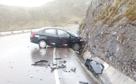 Huánuco: accidente de tránsito deja 5 heridos