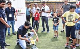 Pueblo Libre: enseñan a armar y controlar drones en talleres de verano 2019