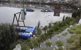 Pasco: 45 casas se inundan por desborde de laguna