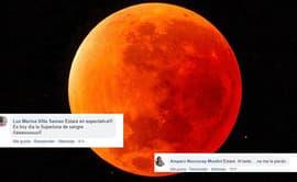 Facebook: usuarios emocionados por ver Superluna Sangre de Lobo [FOTOS]