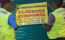 Independencia: clausuran galerías donde vendían perros de forma clandestina [VIDEO]