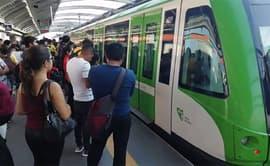Metro de Lima: reportan fallas mecánicas en tren eléctrico [VIDEO]