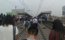 Metro de Lima: rescatan a pasajeros que se quedaron atrapados en vagón [FOTOS Y VIDEO]