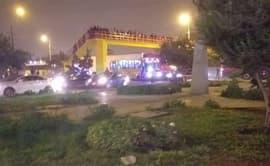 Tráiler malogrado causa congestión vehicular en Panamericana Norte [VIDEO]