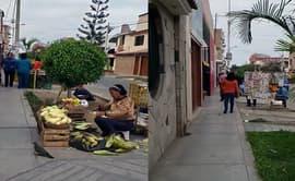 Trujillo: piden retiro de vendedores que invaden vías peatonales [VIDEO]
