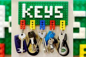 Ideas para decorar con piezas de LEGO