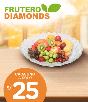 Frutero de mesa diamonds