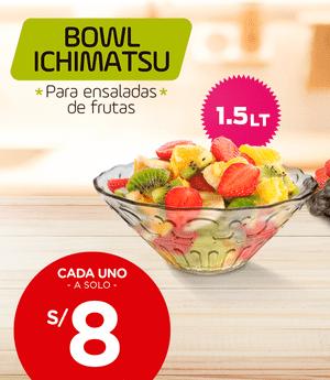 Bowl para ensaladas de frutas