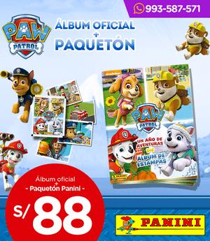 Álbum Oficial + paquetón Panini - Paw Patrol -