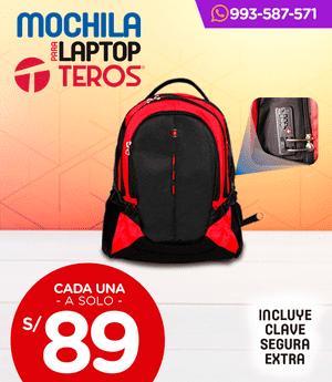 Mochila para laptop Teros