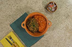 Típico: ¿Cómo preparar Carapulcra de Chancho con Sopa Seca?