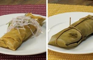 Tradicional: Tamal de Pollo, Chancho y verde